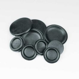 Metric Black Rubber Closed Blind Blanking Grommets 6 to 50mm