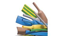 Standard heatshrink pack - Black, Blue, Green/Yellow, Red and Yellow