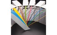 Zero Halogen Boxed Sleeving 6.4mm (dia) - All Colours