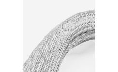 Polyester Grey Braided Sleeving