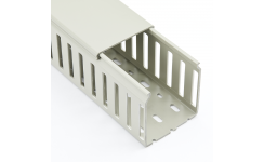 Betaduct 25x75mm Grey Closed Slot Trunking 16m (8 x 2m)