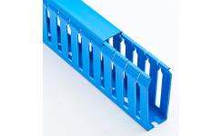 37.5x50 Blue Open PVC Duct 8x2m