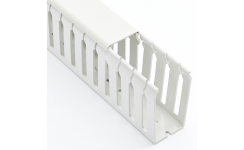 Betaduct Noryl Halogen-Free Open Slot Cable Trunking - Grey