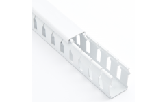 Betaduct Open Slot Cable Trunking White