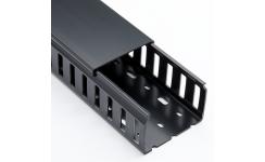 25x20 Black Closed PVC Duct 12x2m