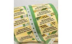 D-SCE Fluid Resistant Heatshrink Identification Sleeves