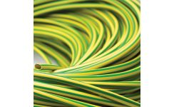 Green/Yellow PVC Sleeving - Coils