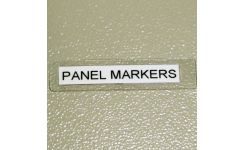 Easi-Lam Cable Markers - Panel & Equipment Markers