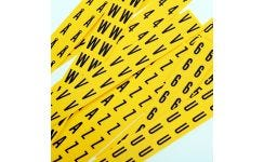 Flexi-Route Markers - Black on Yellow