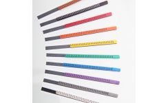 Ademark Colour Coded Cable Markers-Numbers