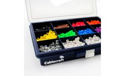 Easi-Lok Colour Coded Mini Cable Marker Kit 12 X 200