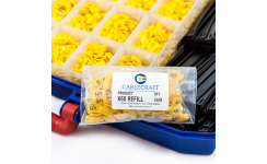 Cablecraft K-Type Tie-On Cable Marker Refill Packs - Black on Yellow