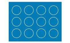 Self-Adhesive Warning Labels - 20 Dia mm - Blue