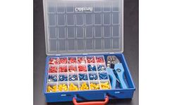 Pre-Insulated Crimp Terminals Kit with Tool