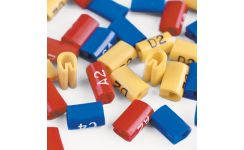 Cablecraft Critchley Z-Type Rail Relay Z9 Cable Markers