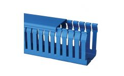 Betaduct 80x60 Blue Narrow Slot Trunking 16m