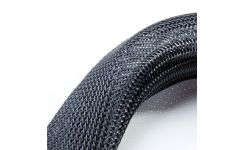 Polyester Black Braided Sleeving