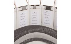 Braided Cable Sleeving - Black & Grey - Mini Boxes