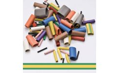 Neoprene Cable Sleeves - Green/Yellow