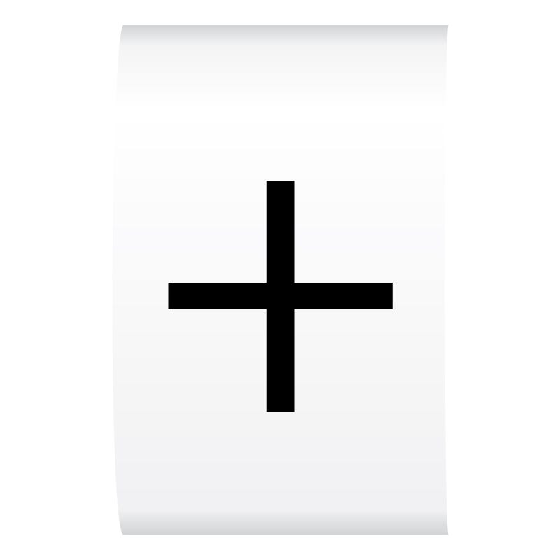 Flexi Route Markers Black On White Cablecraft