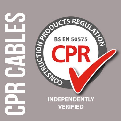 CPR Compliant Cables